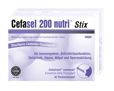 Cefasel nutri Stix Packung